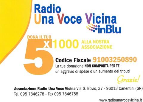 Aiutaci , dona il tuo 5×1000 per sostenere la voce Cattolica della tua città