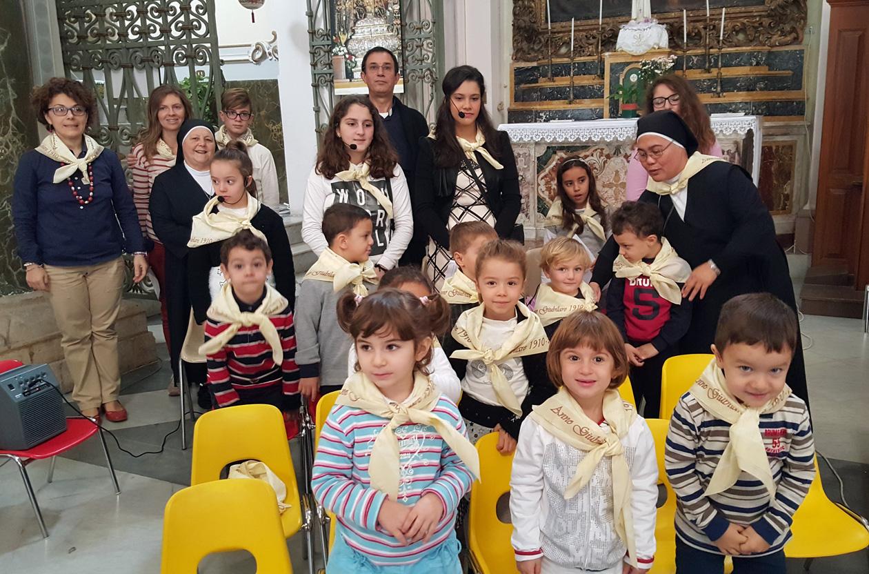 """A Carlentini il coro di voci bianche """"Casa del Fanciullo"""""""
