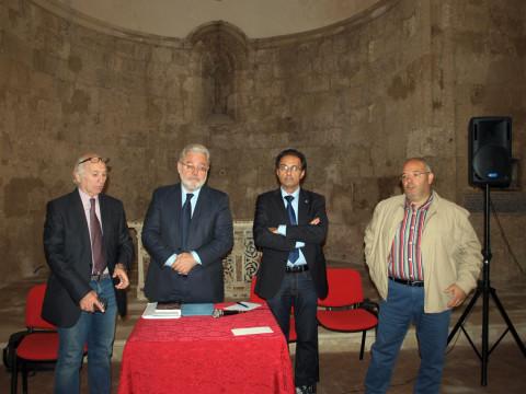 Ernesto preziosi a Carlentini per presentare il suo libro