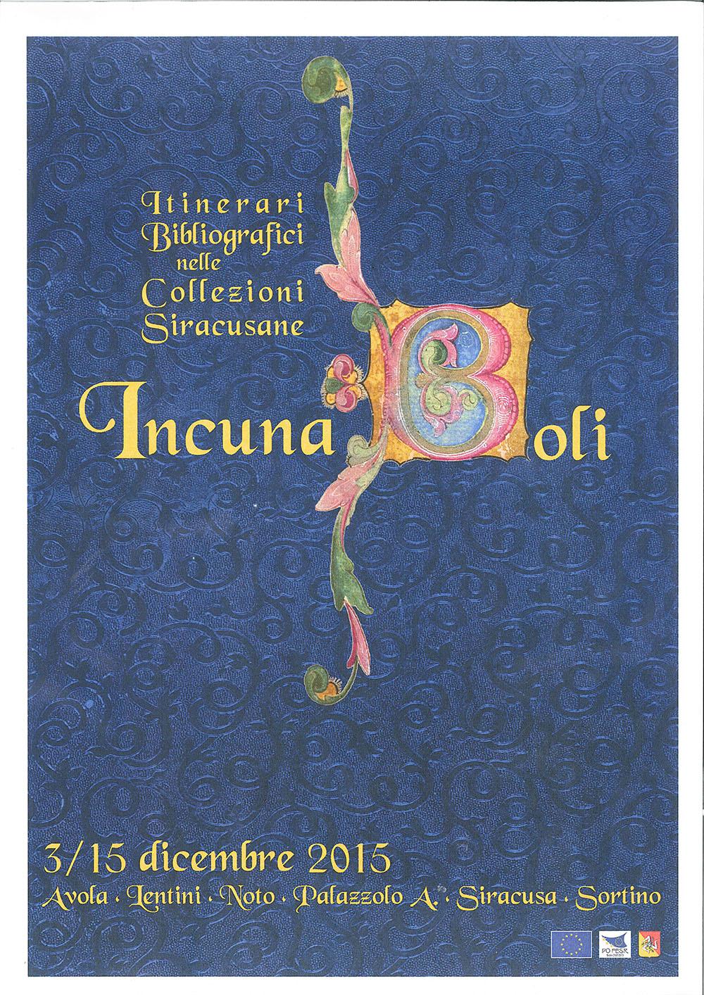 """""""Book e la magica biblioteca"""" e """"Incunaboli a Siracusa"""""""