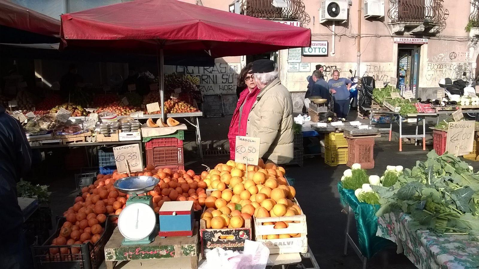Linea Verde di Rai Uno fra gli agrumeti e i mercati di Catania, Siracusa e Agrigento