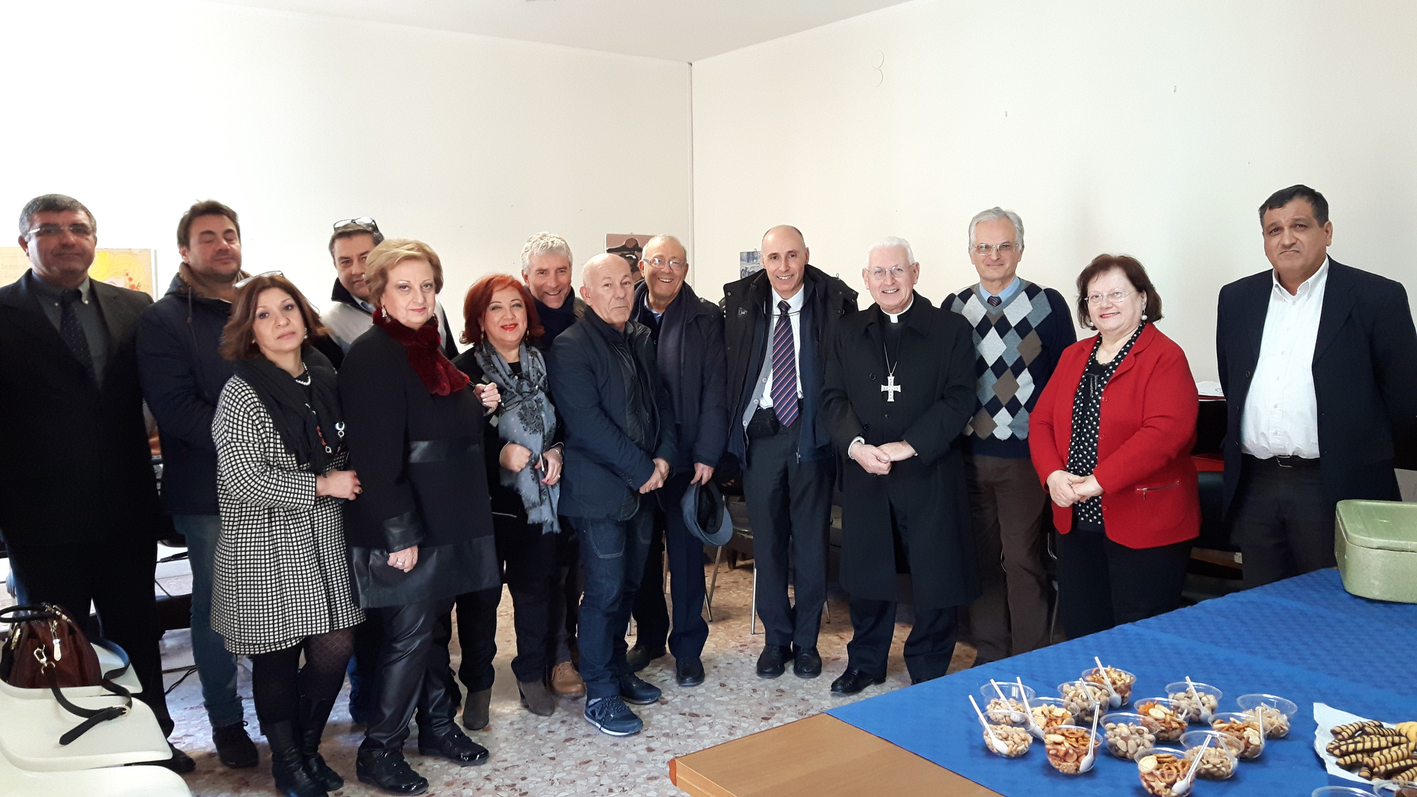 VISITA PASTORALE DELL'ARCIVESCOVO PAPPALARDO ALL'UFFICIO IGIENE DI SIRACUSA