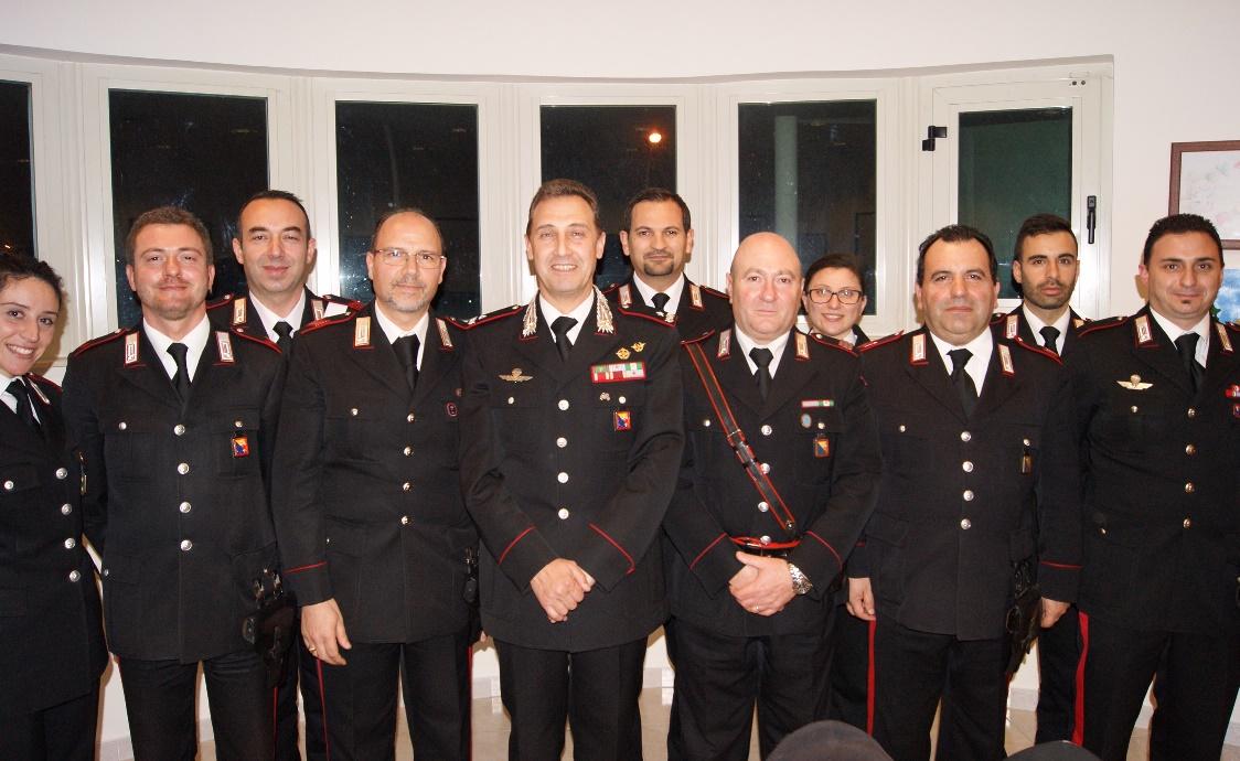 """Visita del Comandante della Legione Carabinieri """"Sicilia"""",  Gen. B. Riccardo Galletta alle Stazioni Carabinieri di Lentini, Carlentini e Francofonte"""