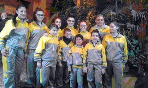 """""""Dragon"""" di Carlentini hanno conquistato la medaglia d'oro ai campionati del mondo di Kata individuale"""