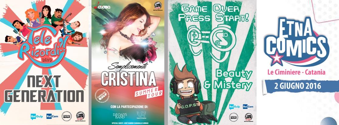 Cristina D'Avena torna ad Etna Comics