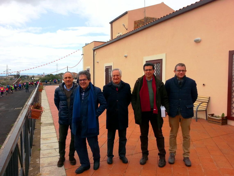 Librino: Bianco visita Villa Fazio