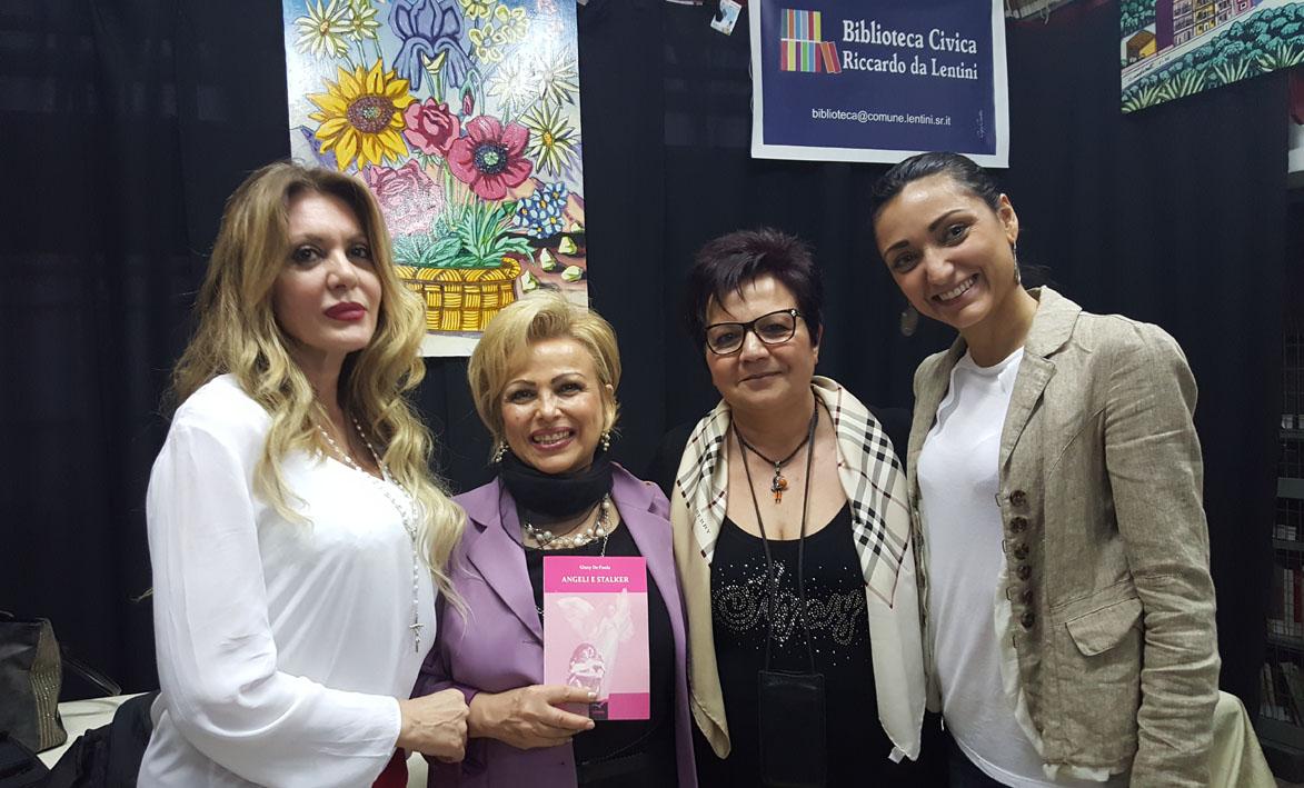"""Presentazione del libro """"Angeli e Stalker"""" alla Biblioteca comunale di Lentini"""