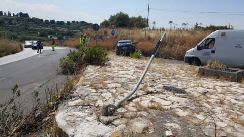 Incidente stradale sulla provinciale Villasmundo – Carlentini