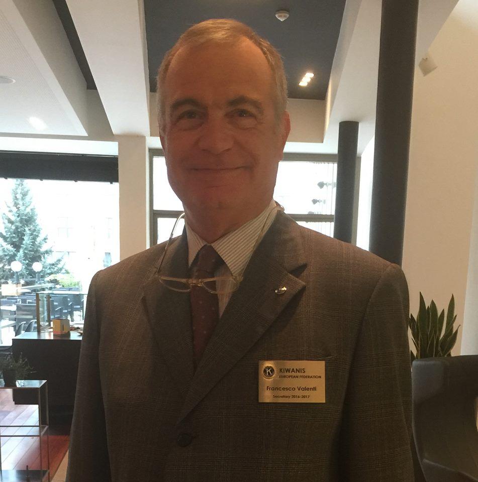 Il lentinese Francesco Valenti ambasciatore per l'Europa del Kiwanis Children's Fund