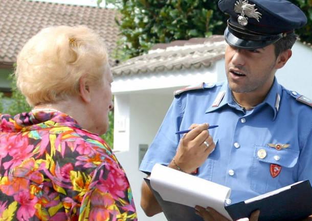 Carlentini, Oggi alle 17, i carabinieri incontrano gli anziani per difenderli dalle truffe e raggiri