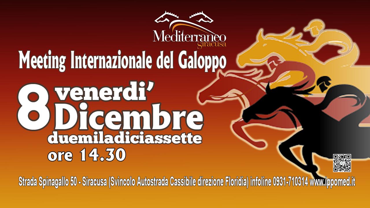 SIRACUSA, Meeting Internazionale del galoppo. 22 anni di galoppo raccontati da sette importanti competizioni.