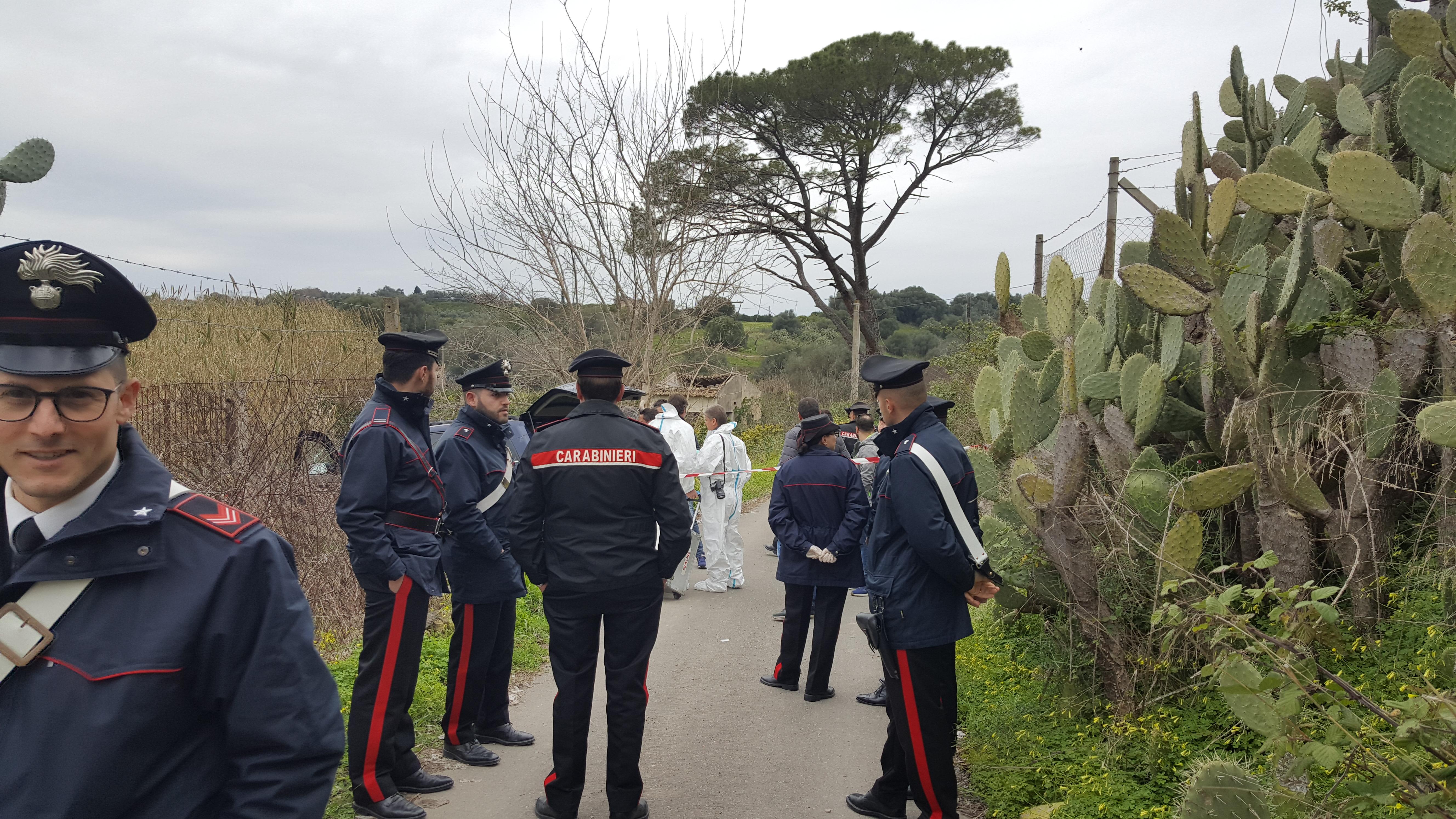 Omicidio a Lentini. Ucciso un pensionato in contrada Sabuci. Originario di San Giovanni La Punta. Indagano i Carabinieri.