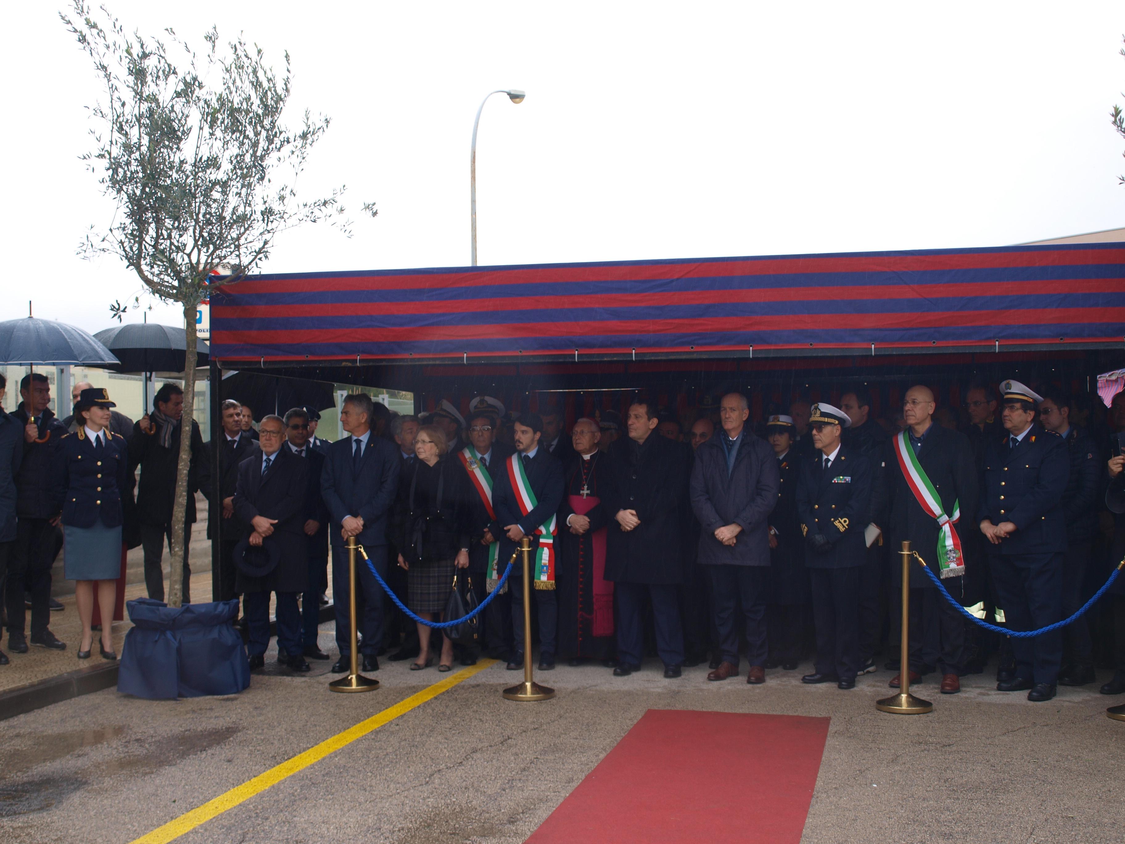 Lentini, Il Capo della Polizia , Prefetto Franco Gabrielli inaugura il commissariato di Pubblica Sicurezza di Lentini
