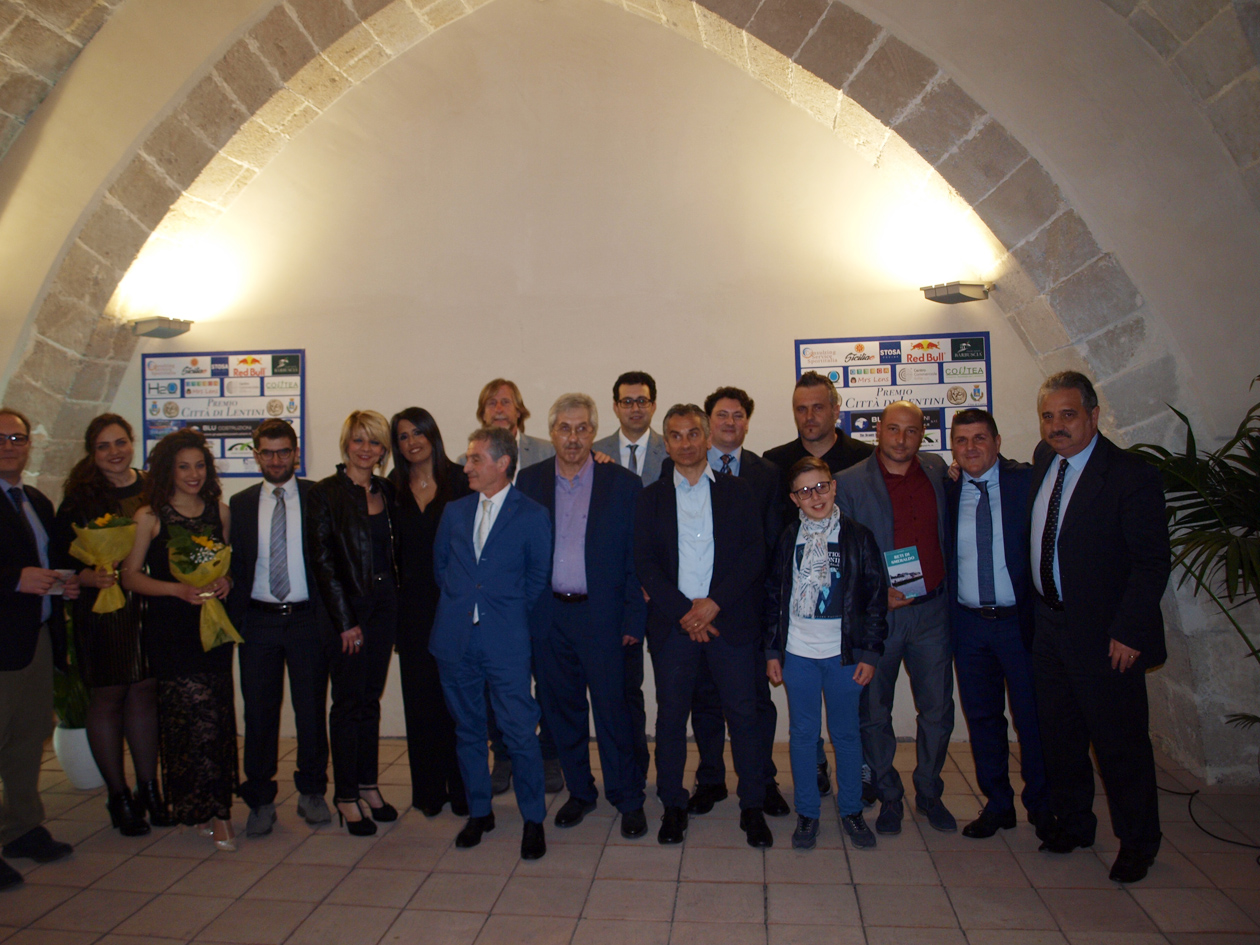 """Lentini, Premio """"Città di Lentini"""" Sport& Letteratura a giornalisti e scrittori."""