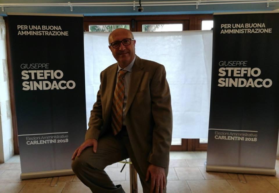 """Amministrative 2018 il candidato sindaco Giuseppe Stefio: Un progetto politico per una buona amministrazione""""."""