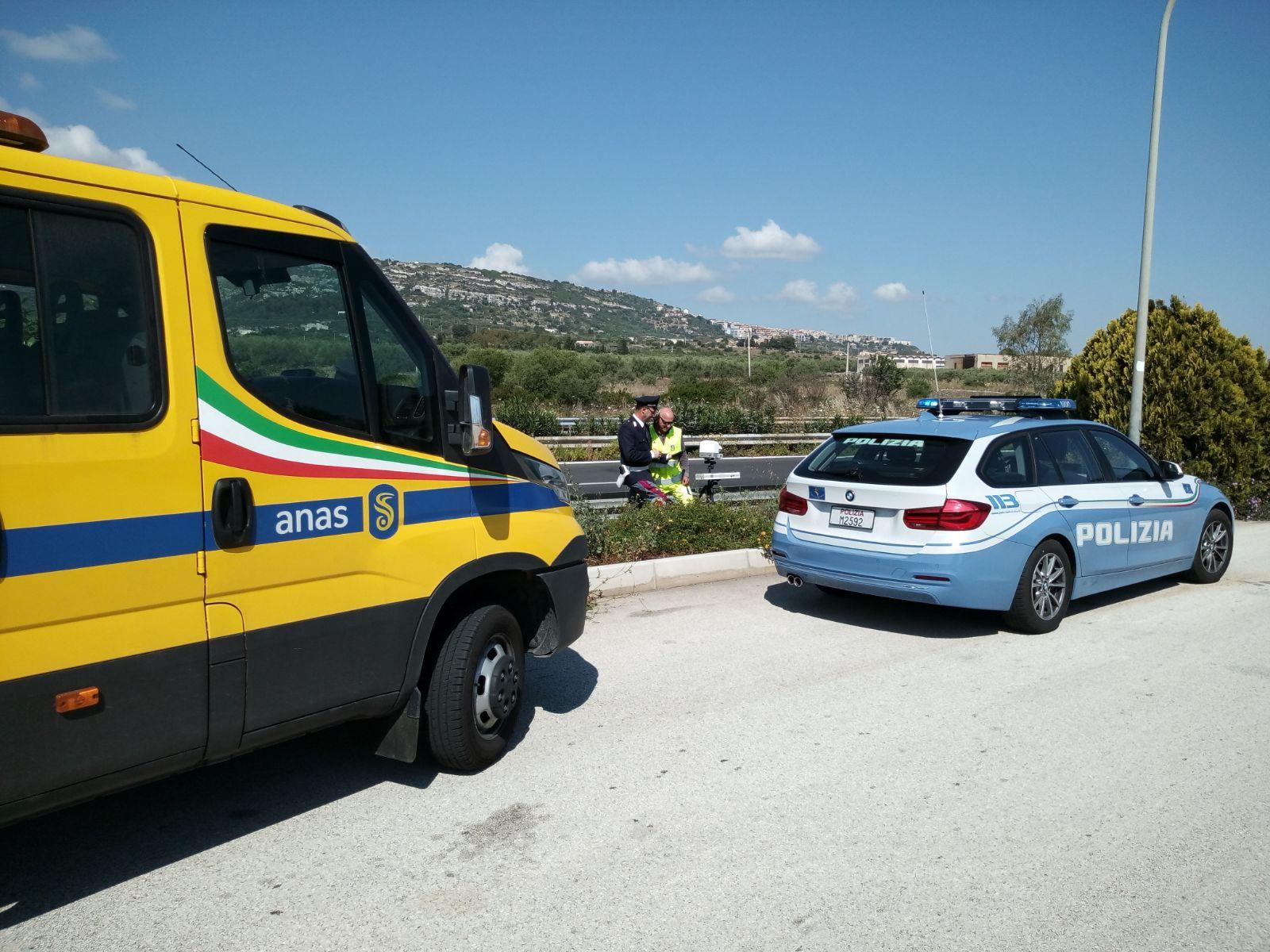 SICILIA, ANAS: CONSEGNATO UN APPARECCHIO AUTOVELOX DI ULTIMA GENERAZIONE ALLA POLIZIA STRADALE DI SIRACUSA