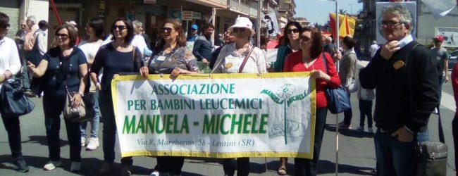 """LENTINI, SPETTACOLO E SOLIDARIETA'. EVENTO PROMOSSO DALL' ASSOCIAZIONE """"MANUELA & MICHELE"""""""
