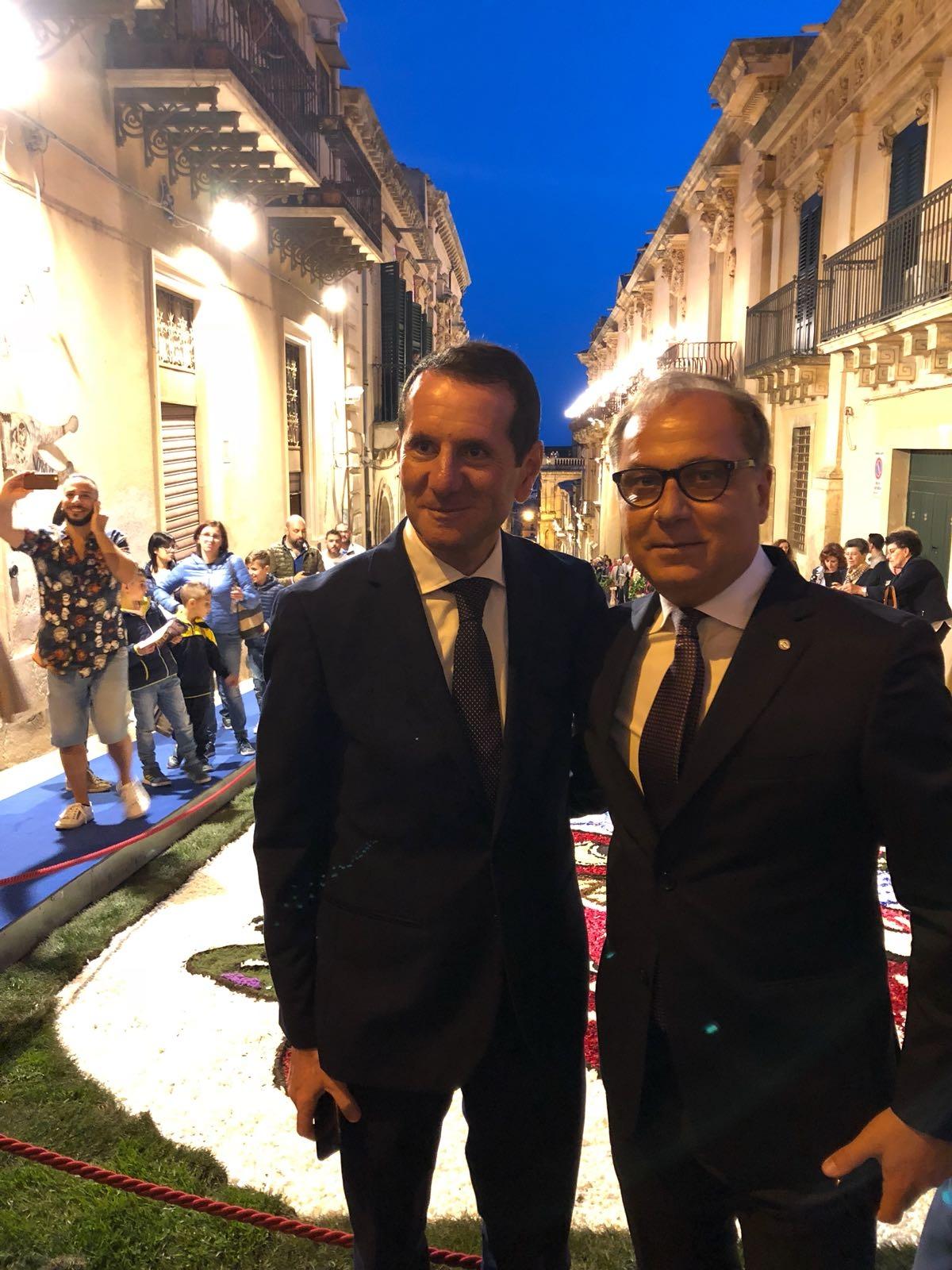Domani il sindaco  di Noto Corrado Bonfanti ospite a Rai 1