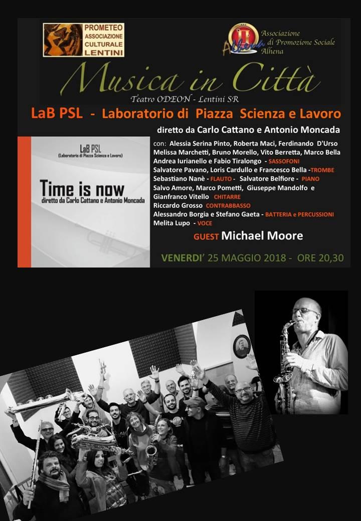 """Lentini, """"Musica in Città"""", venerdì  prossimo al Cine Teatro Odeon – Carlo Lo Presti. Iniziativa realizzata dalle associazioni culturali Alhena e Prometeo Lentini, per la direzione artistica di Giuseppe Cardello e Fausto Lentini."""