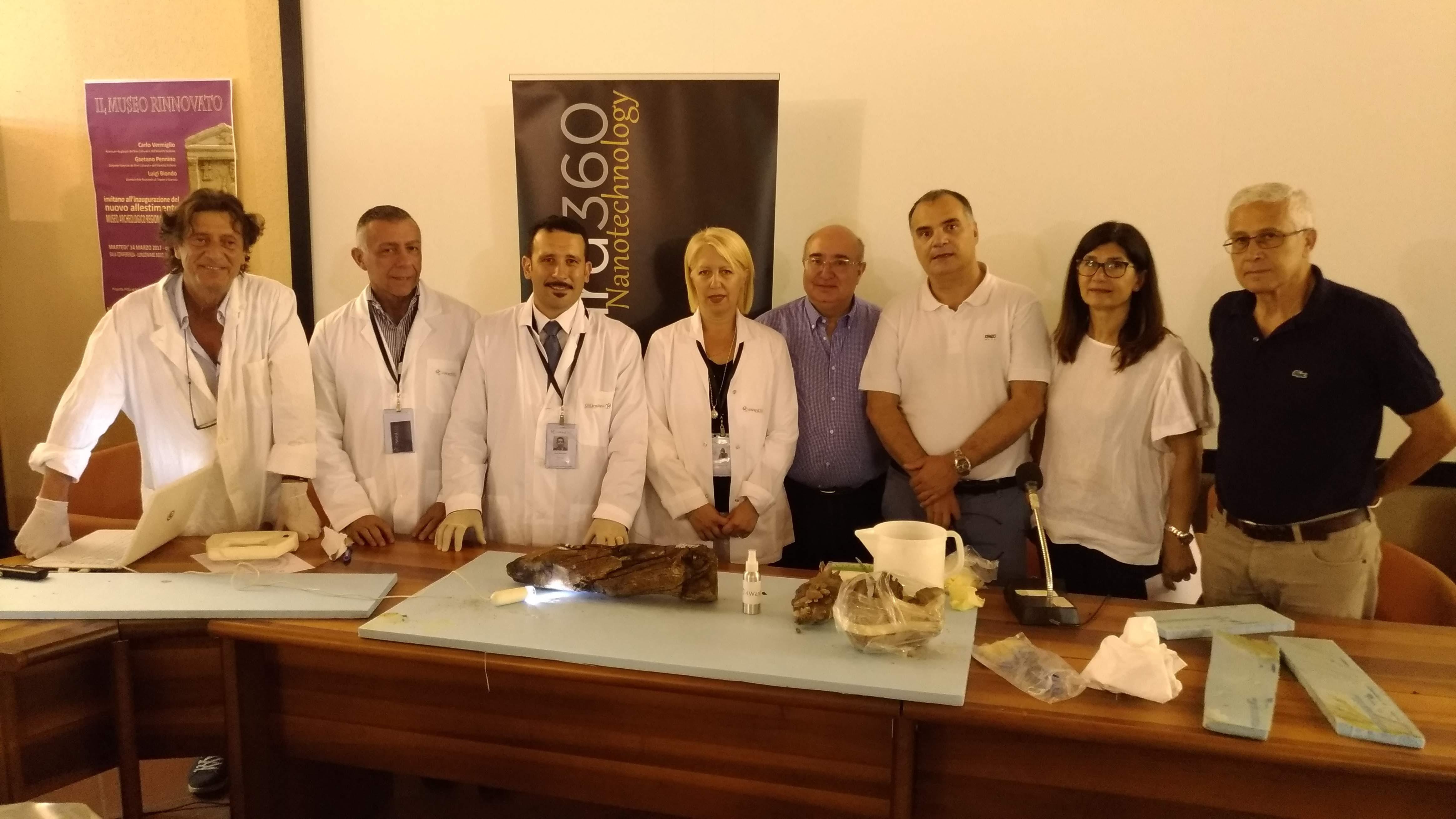 Palermo, Tac ed Rx digitale per la nave di Marausa