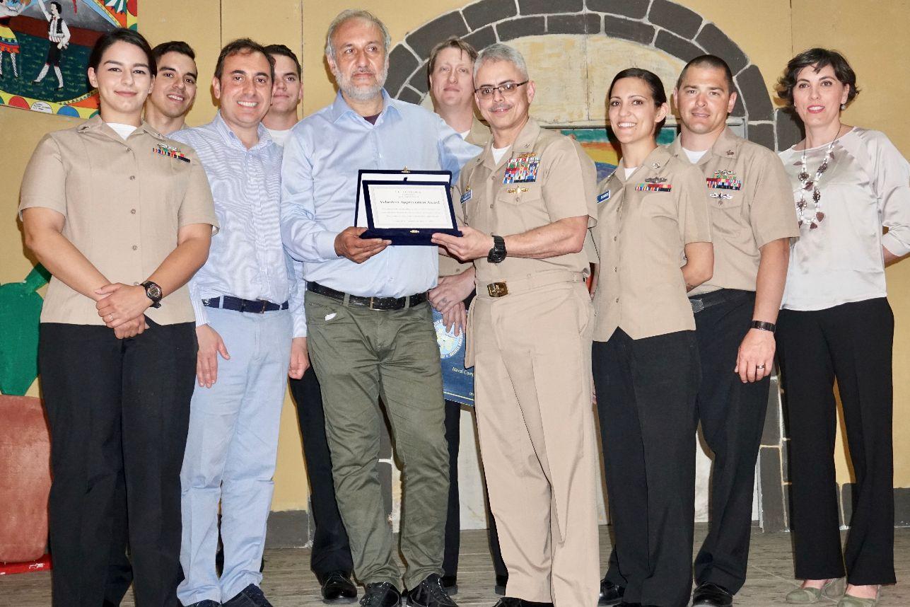 """VOLONTARIATO CIVICO :  """"Premio della Bontà 2018 ai militari americani del Comando NCTS di Sigonella"""""""