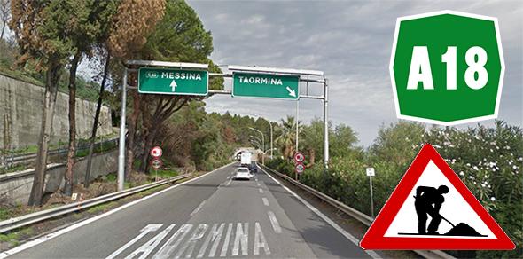 Autostrada Catania – Siracusa. manutenzione