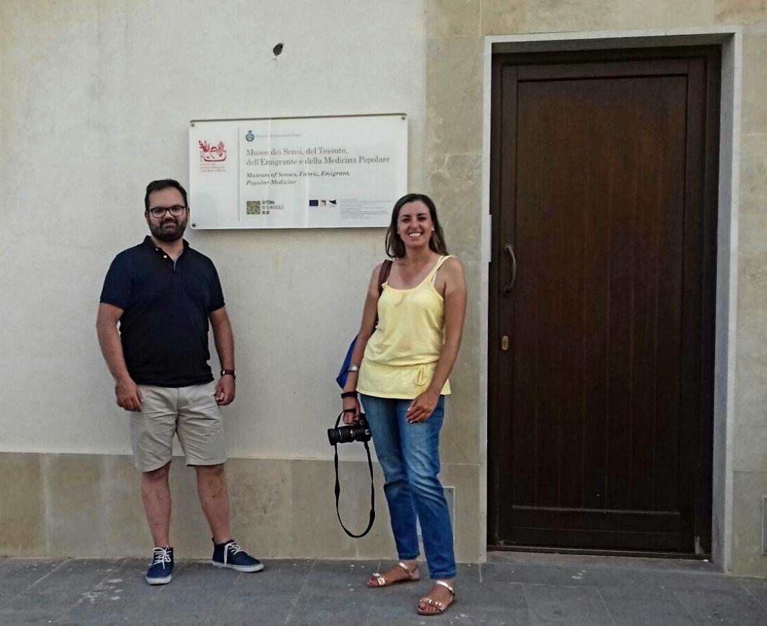 """Canicattini Bagni, """"Sicilia Turismo per Tutti"""". il Museo Tempo dei Sensi, del Tessuto, dell'Emigrante e della Medicina Popolare"""