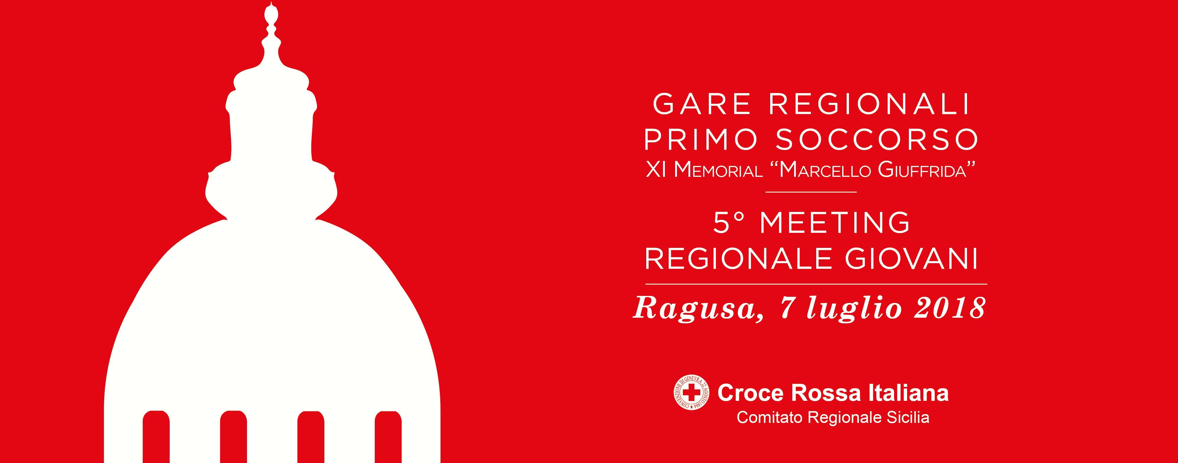 Ragusa Ibla, concluse le Gare  Regionali di Primo Soccorso  e il 5° Meeting Regionale dei Giovani CRI