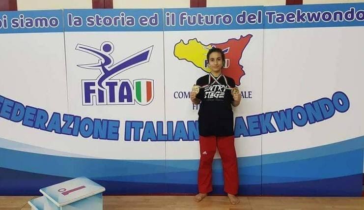 Francofonte, arti marziali: Delia Saggio convocata per il Trofeo Coni 2018