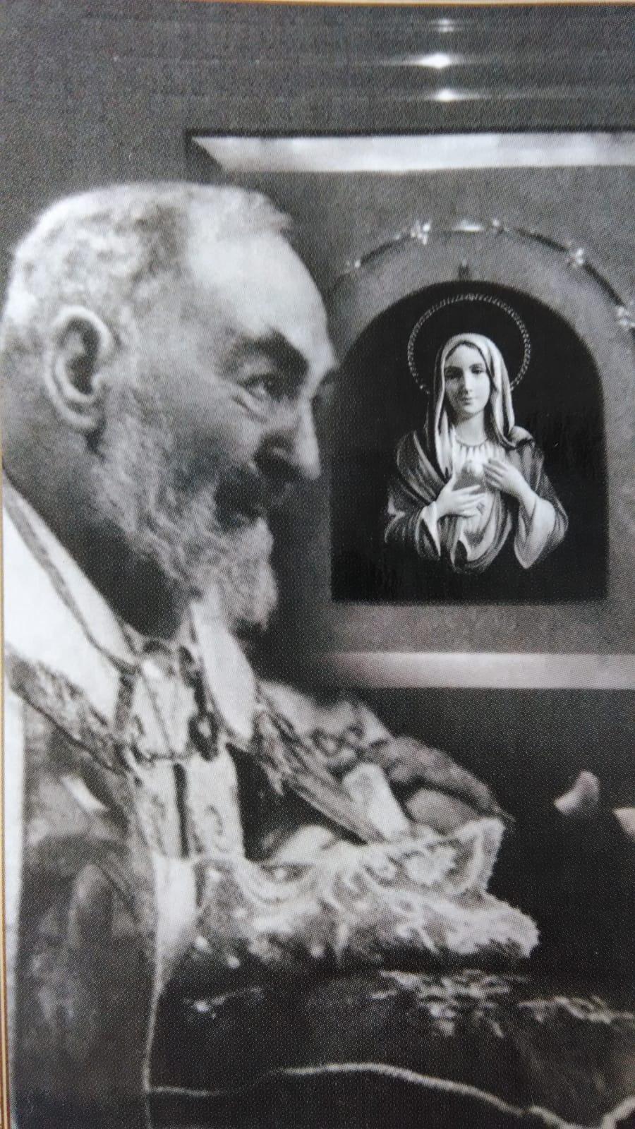 Siracusa, La Madonna delle Lacrime e Padre Pio
