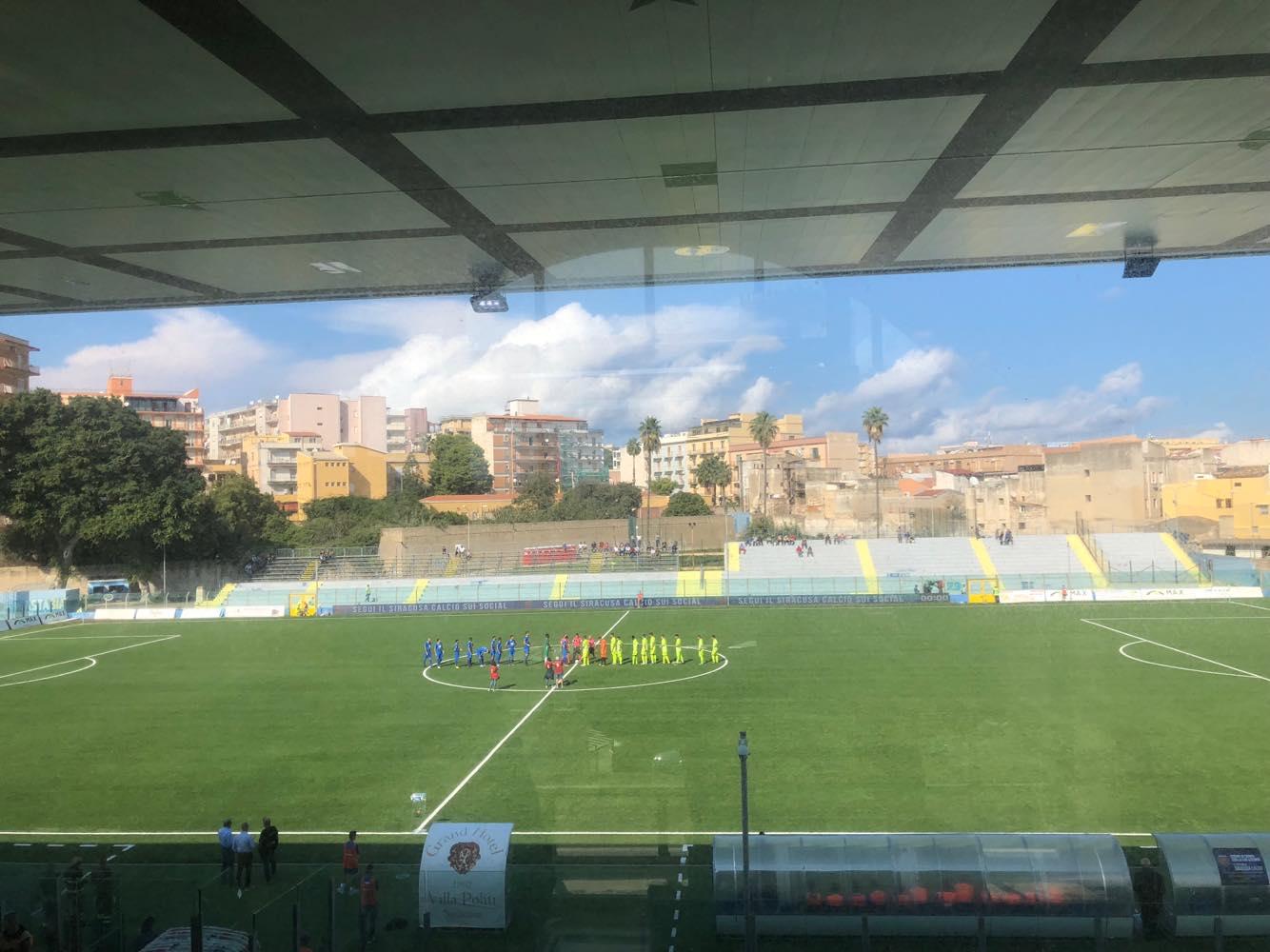Siracusa-Sicula Leonzio 1-0, Aretusei avanti in Coppa Italia, bianconeri eliminati