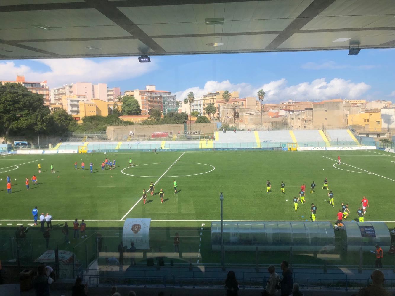 Siracusa-Sicula Leonzio: le formazioni ufficiali del match
