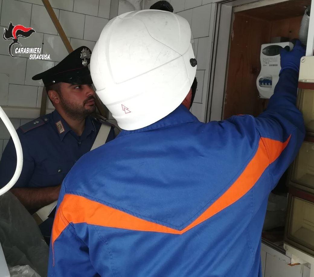 LENTINI E SORTINO, I CARABINIERI DENUNCIANO DUE RISTORATORI PER FURTO DI ENERGIA ELETTRICA
