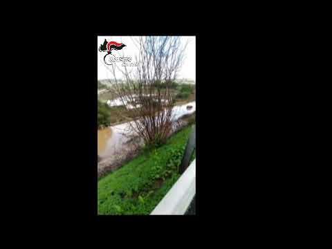 Carlentini alluvione salvataggio persone 19 ottobre 2018
