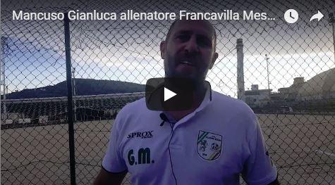 Mancuso Gianluca allenatore Francavilla Messana