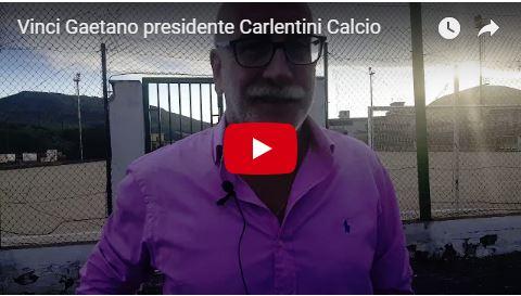 Vinci Gaetano presidente Carlentini Calcio