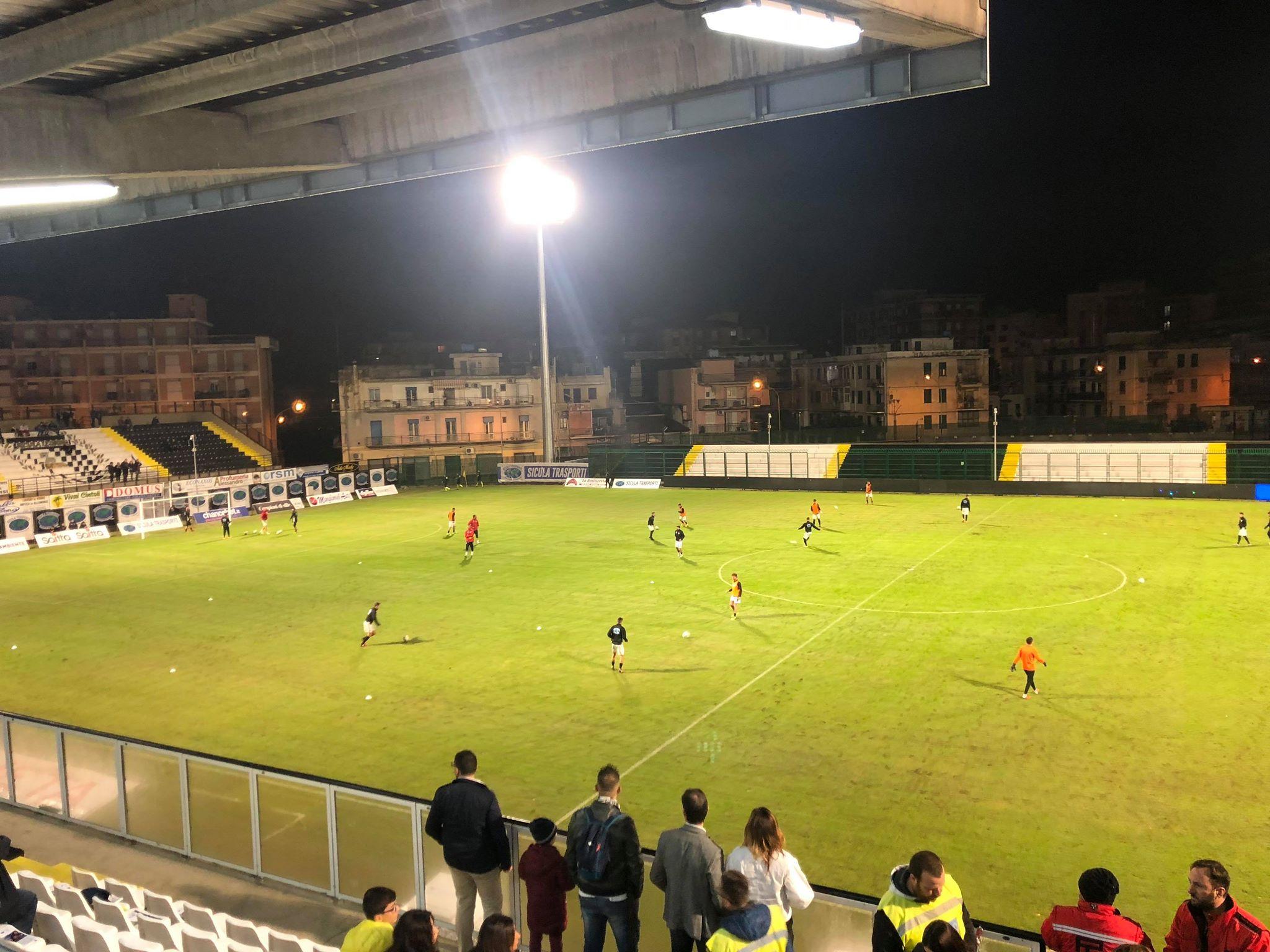 Lentini, Coppa Italia Serie C: modifica del Girone L con la Vibonese