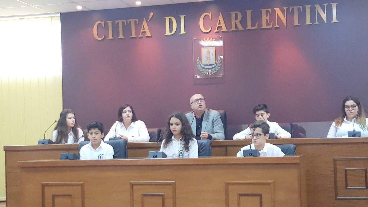 Carlentini sindaco baby insediamento