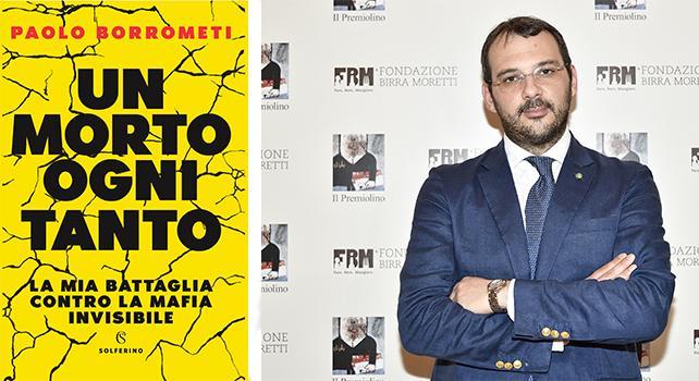 """Francofonte. Domani conversazione con Paolo Borrometi, giornalista e autore del libro """"Un morto ogni tanto"""""""