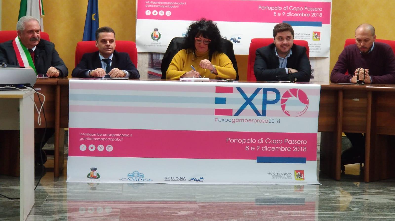 Portopalo, un successo la prima edizione dell'Expo Gambero Rosa 2018 a