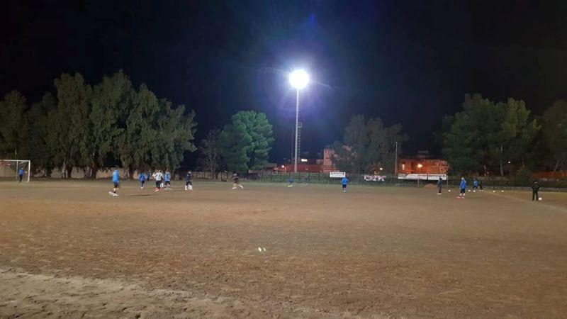Città di Francofonte. Primo allenamento della settimana per i verde arancio