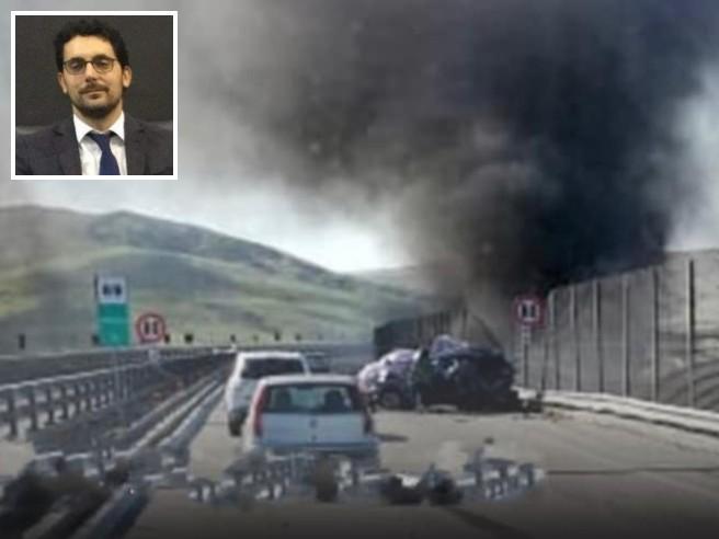 """Enna, Magistrato muore in incidente su A19 """"Catania – Palermo"""