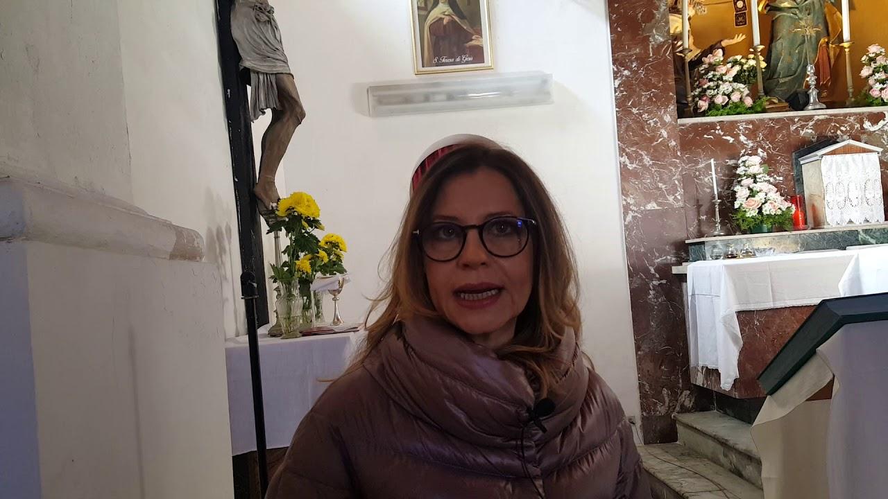 Lentini. Dott. Raffaella D'Amico presenta il restauro della Madonna del Latte