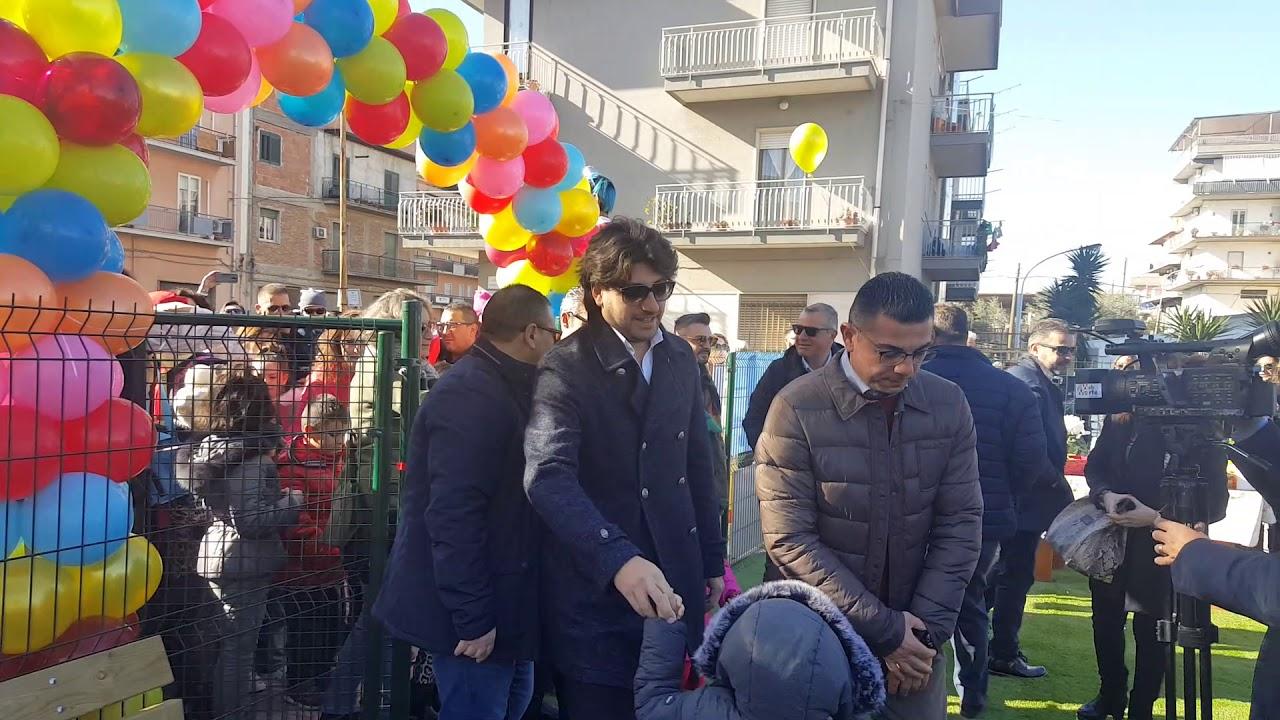 Lentini inaugurazione Ecoparcogiochi. Piazza Filadelfo Aparo