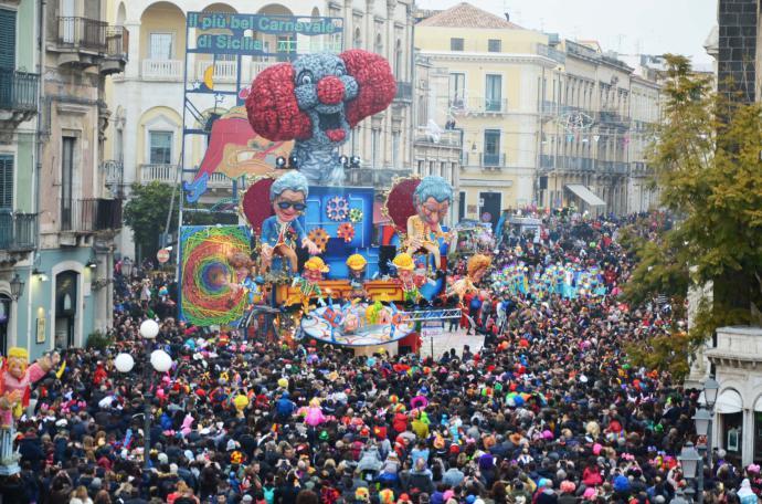 Acireale, quasi settantaduemila spettatori hanno visto il più bel Carnevale di Sicilia