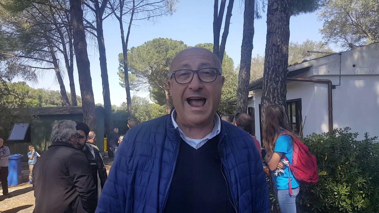 Carlentini il sindaco Giuseppe Stefio accoglie la delegazione della Base di Sigonella