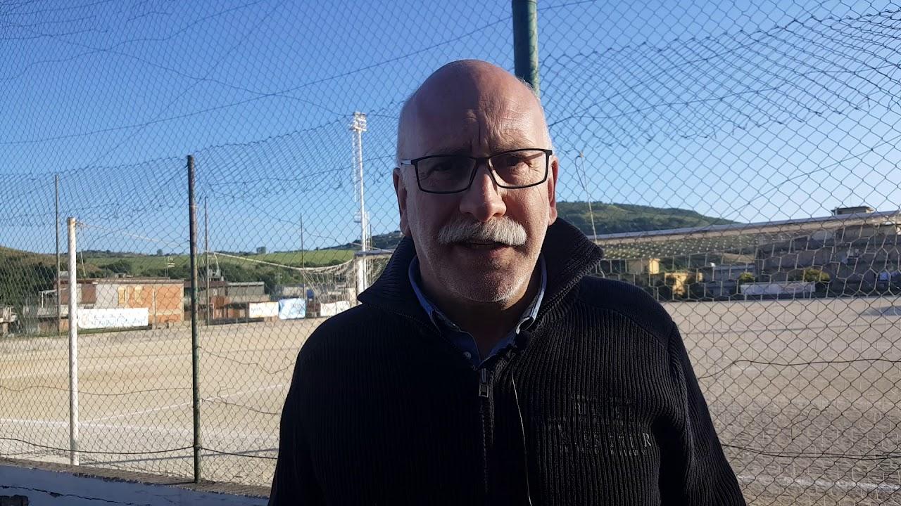Carlentini il presidente del Carlentini Calcio Gaetano Vinci