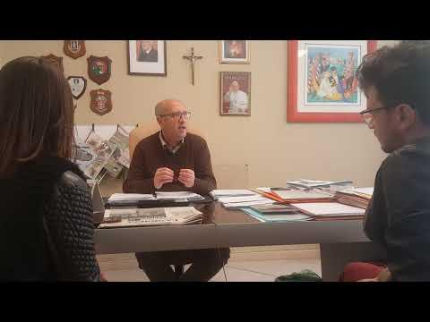 Carlentini. Il sindaco Giuseppe Stefio intervistato dagli studenti