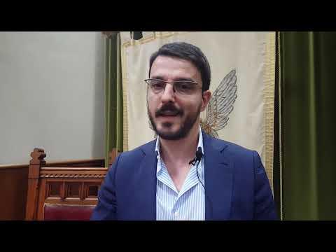Lentini il sindaco Saverio Bosco su via Garibaldi
