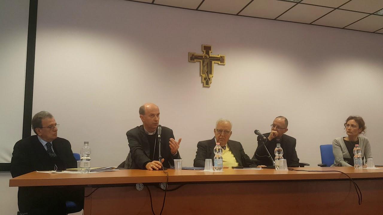 Roma intervento del segretario della Cei Mons. Stefano Russo